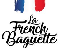Logo french baguette